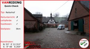 D-Niedersachsen - Reiterhof Menkenhof