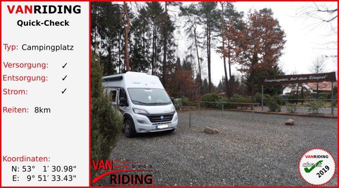 """D-Niedersachsen - Campingplatz """"Auf dem Simpel"""""""