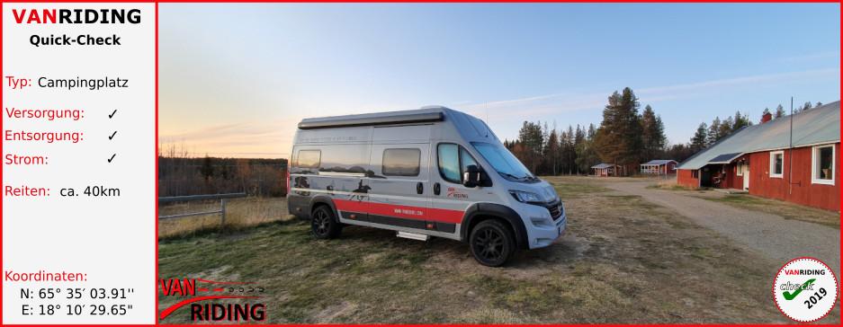 SWE-Lappland - Slagnäs Camping & Stugby AB