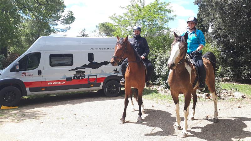 Toskana on horseback - 5 Stunden im Sattel